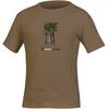 Directalpine Organic t-shirt Heren bruin